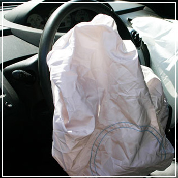 deployed airbag