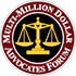Million Dollar Advocates Seal