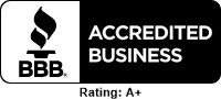 BBB Logo and A+ Rating