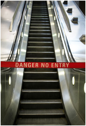 Escalator-out-of-order