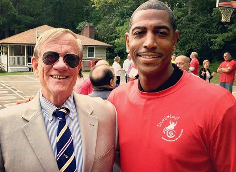 Kevin Ollie & Chick Pritchard