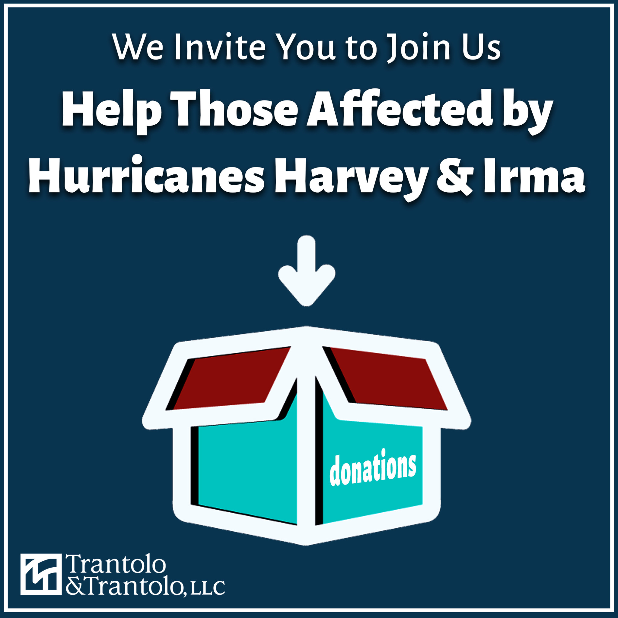 Help Those Affected by Hurricanes Harvey & Irma