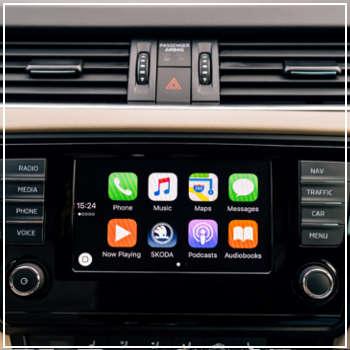 smart car dashboard