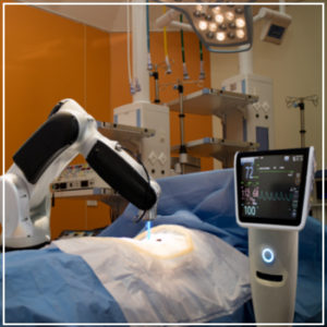 robot assisted surgery machine