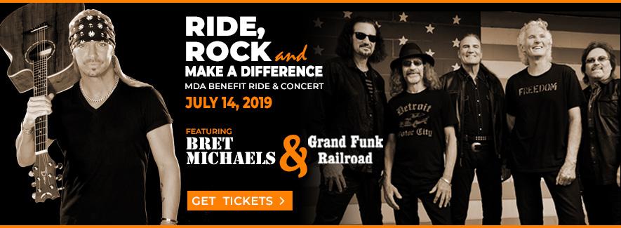 MDA Benefit Ride & Concert, July 14, 2019