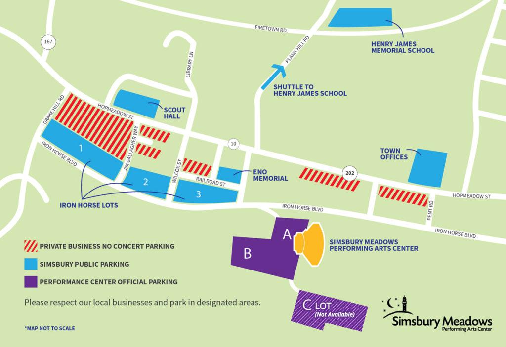 Simsbury Meadows Parking